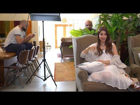 خلف الكواليس مع أسيل  Behind-The-Scenes with Aseel