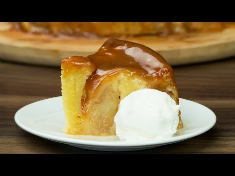 Chec cu mere și sos de caramel. Ingrediente simple iar gustul absolut fantastic! | SavurosTV