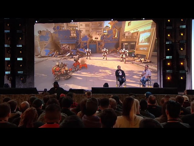 BlizzCon 2019 Overwatch 2 - Torbjorn Flame Thrower Talent