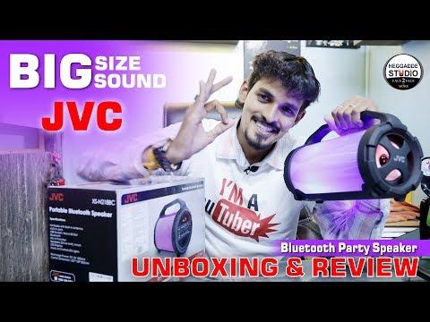 JVC Portable Bluetooth Speaker Unboxing & Review | JVC XS-N218BC Portable | Best Budget