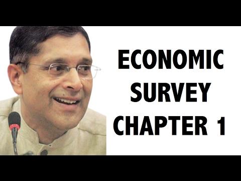 Economic survey 2016-17 CHAPTER 1 analysis in detail - UPSC / RBI Grade B / IBPS / SBI PO 2017