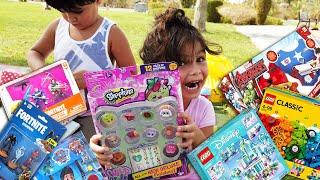 Brincando no Parquinho Infantil Ganhamos R$2.000 em Presentes - Quem nos enviou?