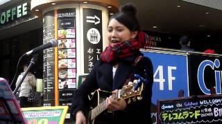 2013年2月23日土曜 大阪アメリカ村・心斎橋 BIG STEP 前 でのス...