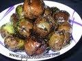 Gutti Vankaya with Dhaniyala Karam - Eggplant with Coriander Powder Curry - Andhra Recipes