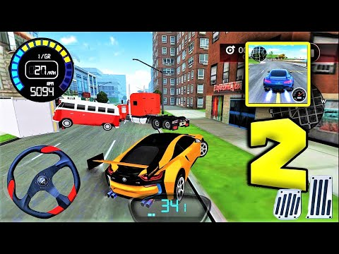 Drive For Speed Simulator | Best Android Games For Airplane Mode | (android, Ios) Gameplay P2