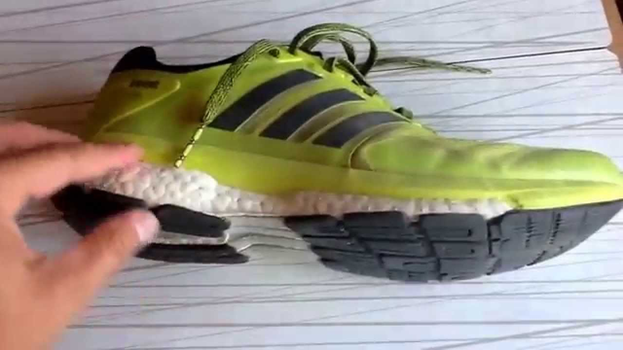huge selection of 03560 5735f Comparativa de las Adidas ENERGY BOOST 2 y las Adidas SUPERNOVA GLIDE 7. -  YouTube