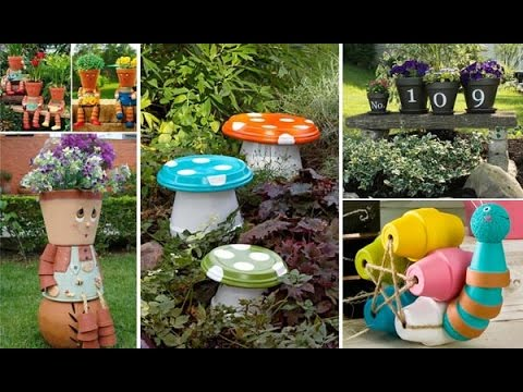 Budget Friendly and Fun Garden Projects Made with Clay Pots
