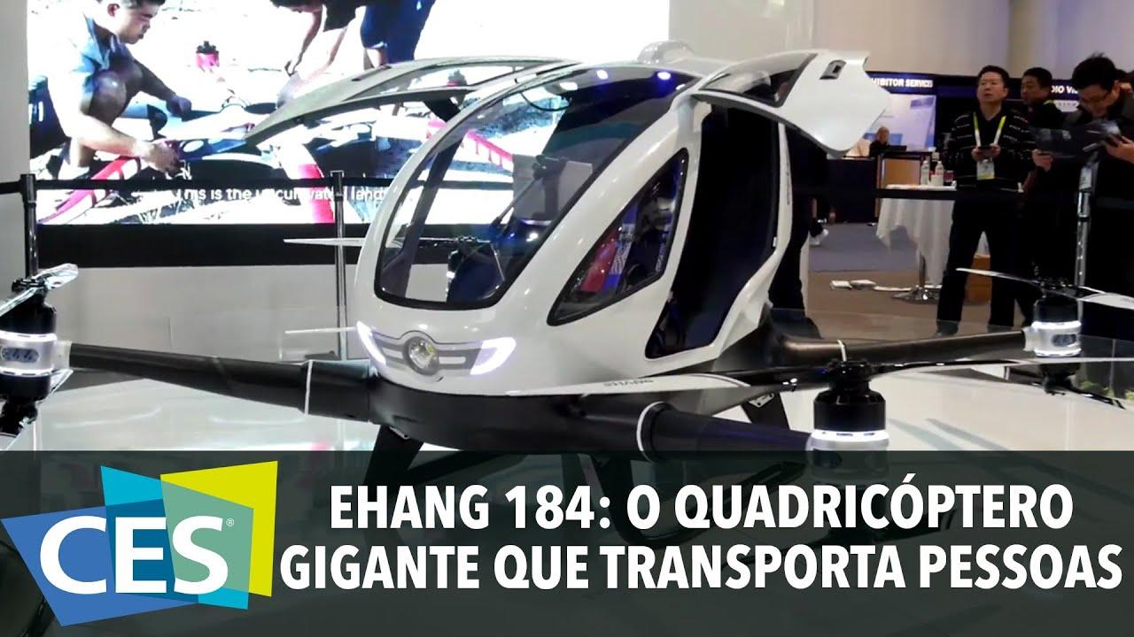 Drone Do Futuro Ou Carro Voador Conhe 231 A O Ehang 184 O