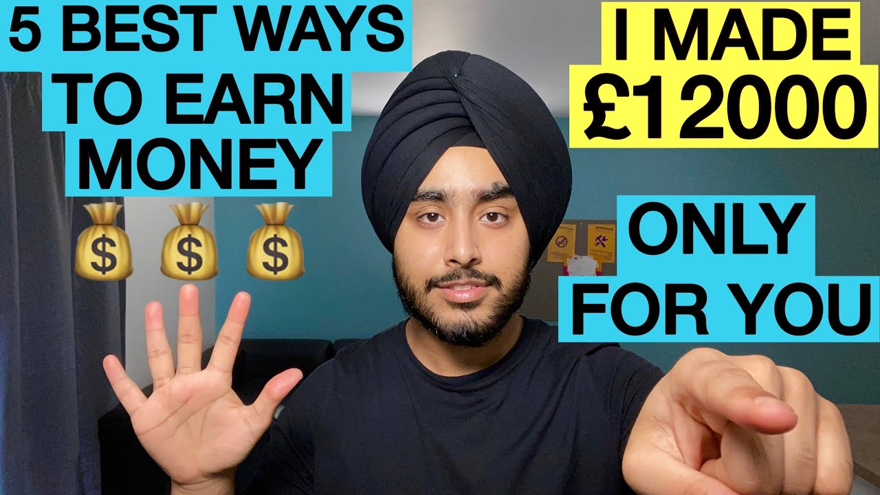 HOW TO EARN MONEY AS A STUDENT IN UK|5 SIDE HUSTLES TO DO AS INTERNATIONAL STUDENT