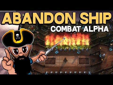 BEST TACTIC TO DEFEAT SHIPS - Abandon Ship on Steam | NEW Pirate RTS