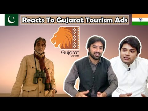 Pakistani Reacts To  Gujarat Tourism Ad ft Amitabh Bachchan  Table Top Reactions