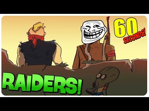 MAD SCIENTIST and RAIDERS? GG ( ͡° ͜ʖ ͡°) - 60 Seconds Game (Switch | PC)