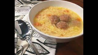 Суп с фрикадельками: рецепт от Foodman.club