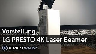 LG Presto HU80KSW 4K Laserbeamer HU80KG Vorstellung / Erste Eindrücke