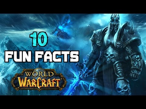 10 Fun Facts About World of Warcraft