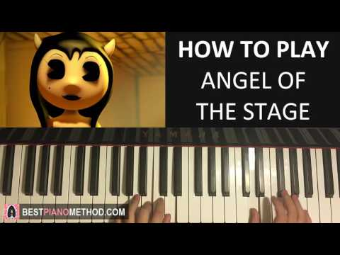HOW TO PLAY - ALICE ANGEL SONG - Angel of the Stage - TryHardNinja (Piano Tutorial Lesson)
