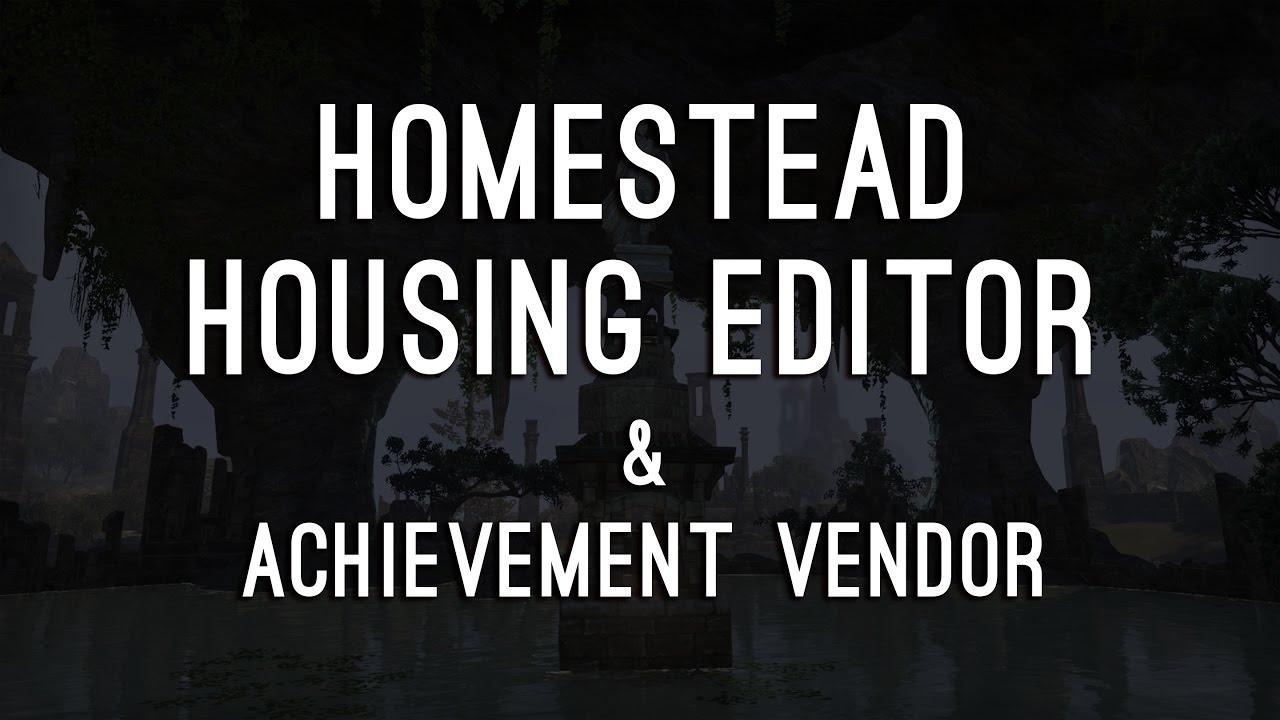 Eso achievement furniture vender 28 images elder for Homestead furniture eso