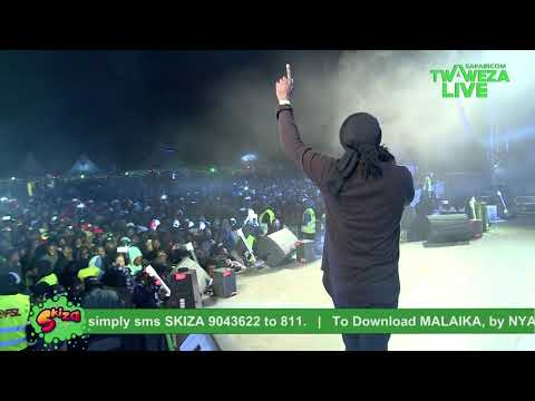 nyashinski---malaika-#twawezalive-eldoret