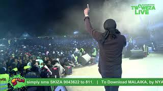 Nyashinski - Malaika #TwawezaLive Eldoret