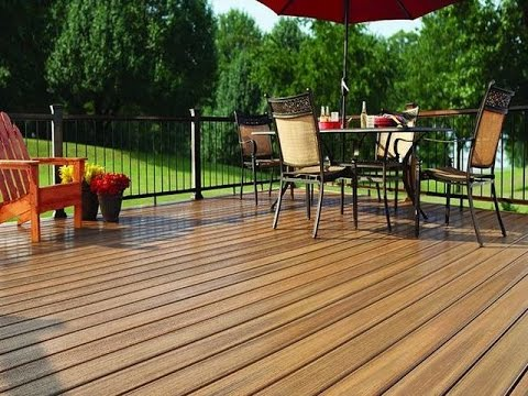 cheap outdoor patio flooring ideas - YouTube