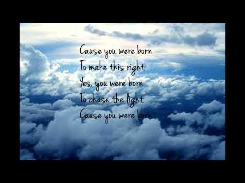 You Were Born Lyrics - Cloud Cult