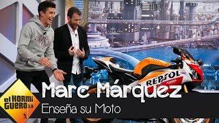 Marc Márquez enseña cómo es y cómo funciona su moto - El Hormiguero 3.0