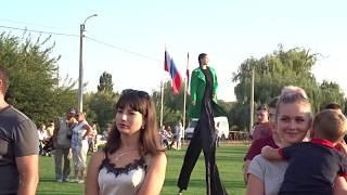 День посёлка Гвардейское  Крым  фильм 2 Симферопольский район  25 08 2018