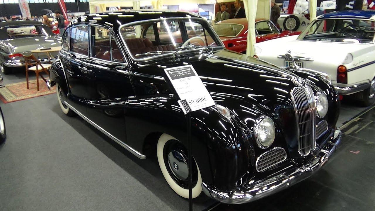 1957 - BMW 501 V8 - Exterior and Interior - Classic Expo Salzburg ...