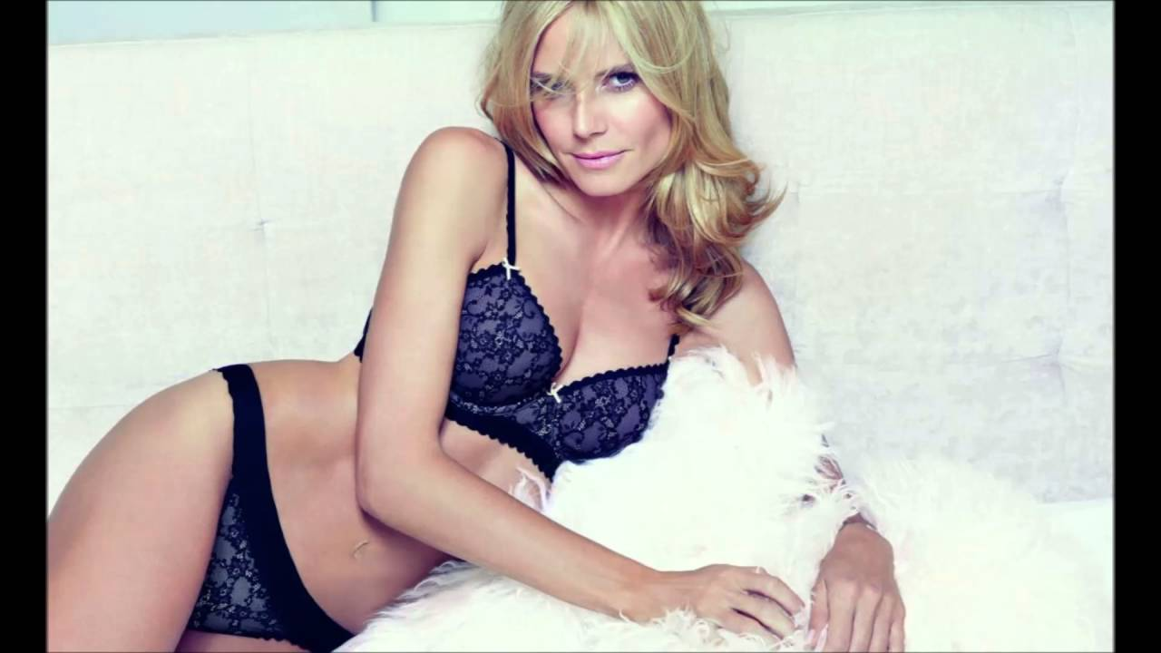 6a9286a64bd2 Heidi Klum -2016 Intimates Collection - YouTube