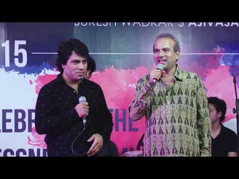 Javed Bashir performing at Ajivasan Fest 2015
