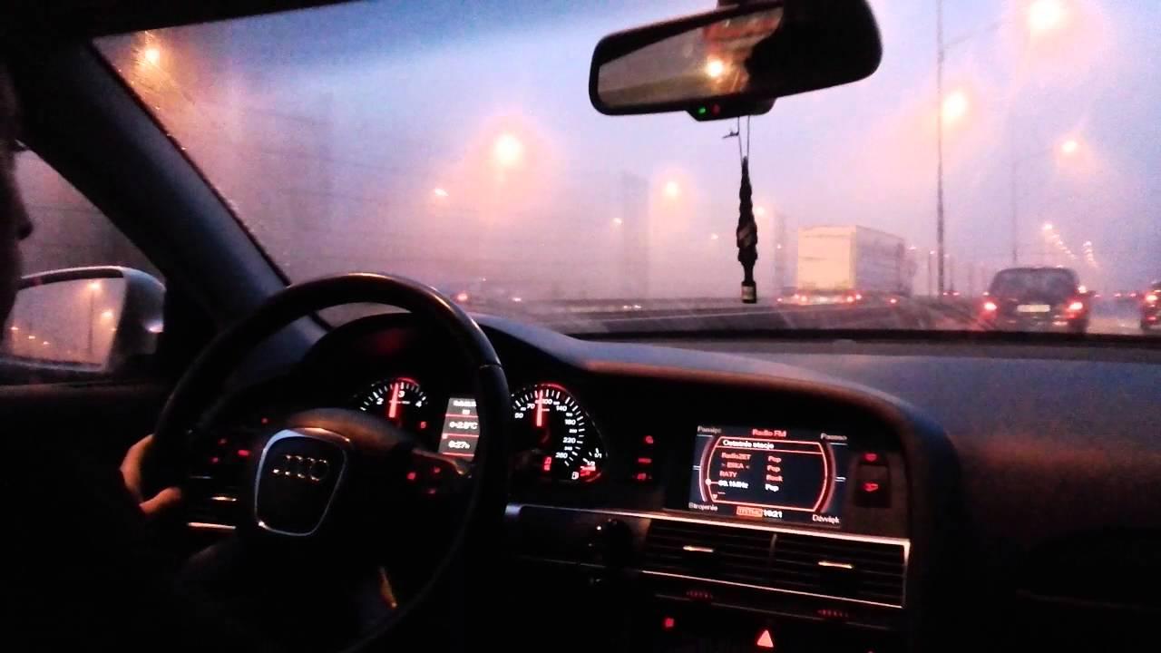 Audi A6 C6 Avant 2008 20 Tdi 170hp Test Drive On Road Youtube