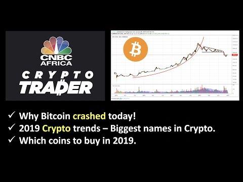 Why Bitcoin Crashed today. 2019 Crypto Market Predictions.