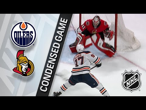 03/22/18 Condensed Game: Oilers @ Senators