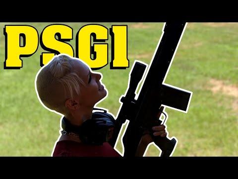 HK Day at the Range! (MP5K, MP7, MP5SD, G36, PSG1, MG4)