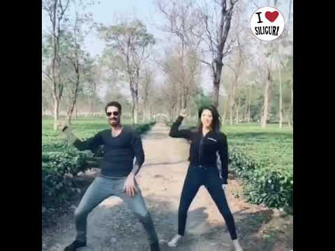 Sunny Leone and husband Daniel Weber return back to Mumbai after their Dooars and Siliguri tour..