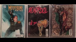 Comic Book Haul #?.   Variants, speculations, 1st appearances and a mystery box