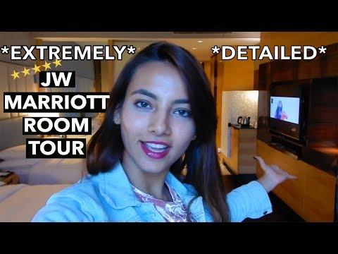 How Does A 5 Star Hotel Room Looks Like?   JW MARRIOTT   INDIA   VRITTI KHAWANI