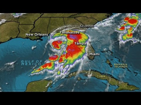 Tropical Storm Hermine threatens Florida