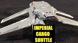 Star Wars Black Series Titanium Imperial Cargo Shuttle