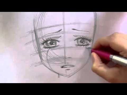 Manga Tutorial How To Draw Crying Girl