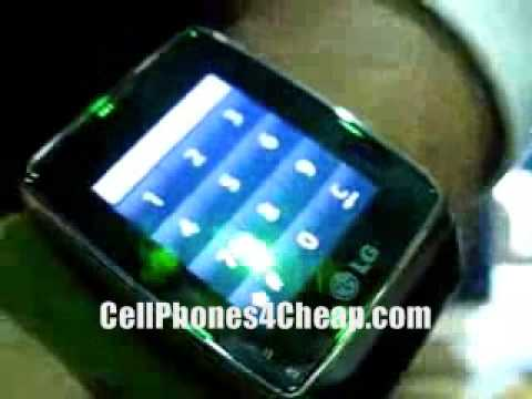 LG GD910 Cell Phone Wrist Watch Review