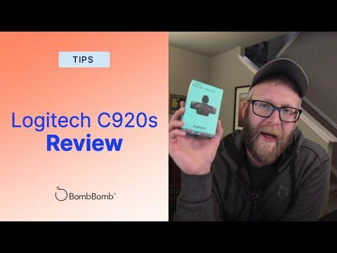 Logitech C920s Review