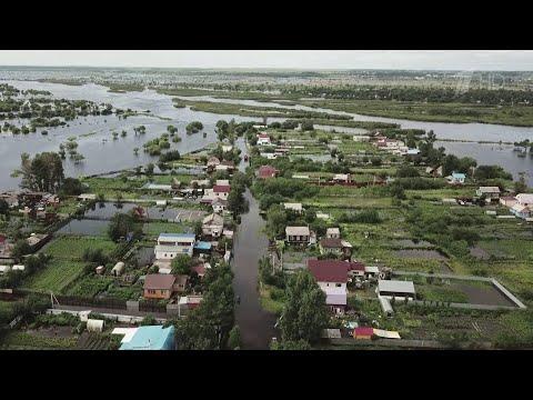 В Амурской области из-за паводка от внешнего мира отрезаны 23 населенных пункта.