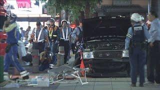 名古屋 タクシーが歩道に突っ込む 男女7人重軽傷(19/09/15)