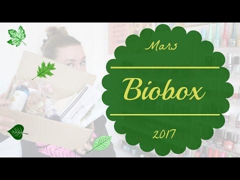 Biobox - Mars 2017 - Box Suisse 100% BIO !!! Avec Nutrisslim, Aroma Zone, So'Bio étic....