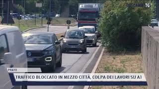 2021-07-09 PRATO - TRAFFICO BLOCCATO IN MEZZO CITTÀ, COLPA DEI LAVORI SU A1