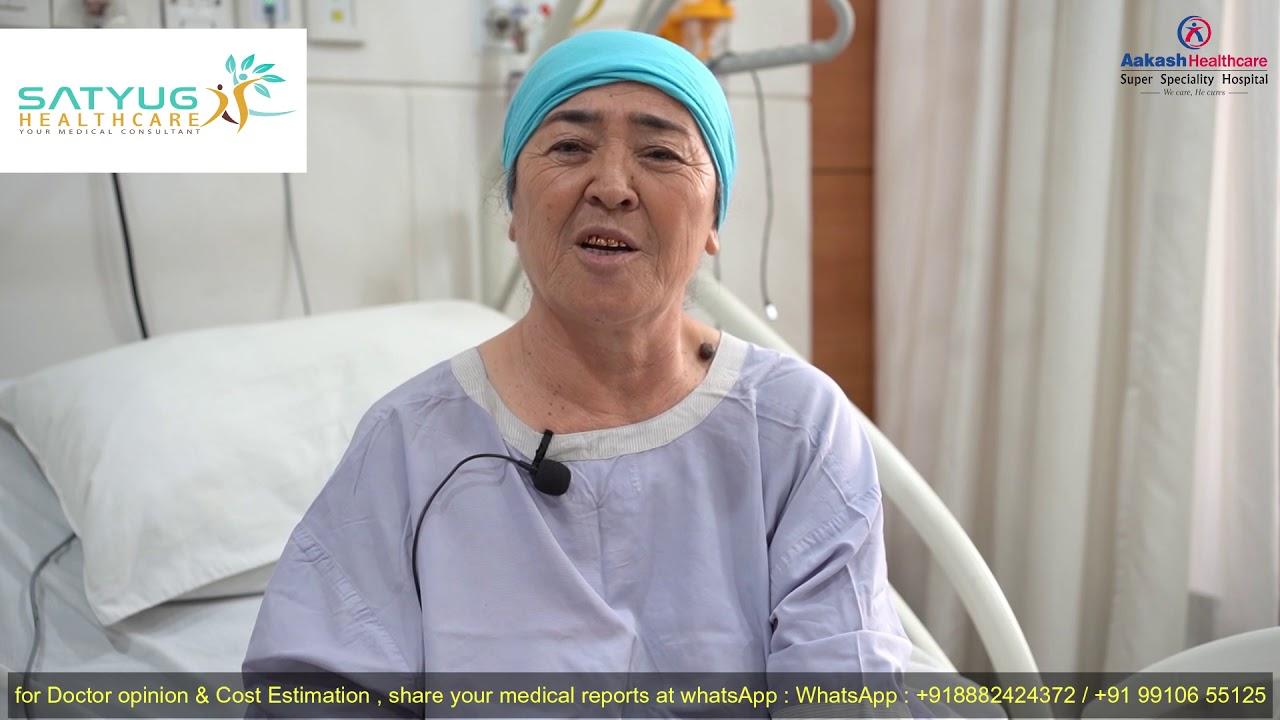 Best Orthopedic Doctor in Delhi   Uzbekistan Patient travel to India for knee replacement #Orthopedicsurgery