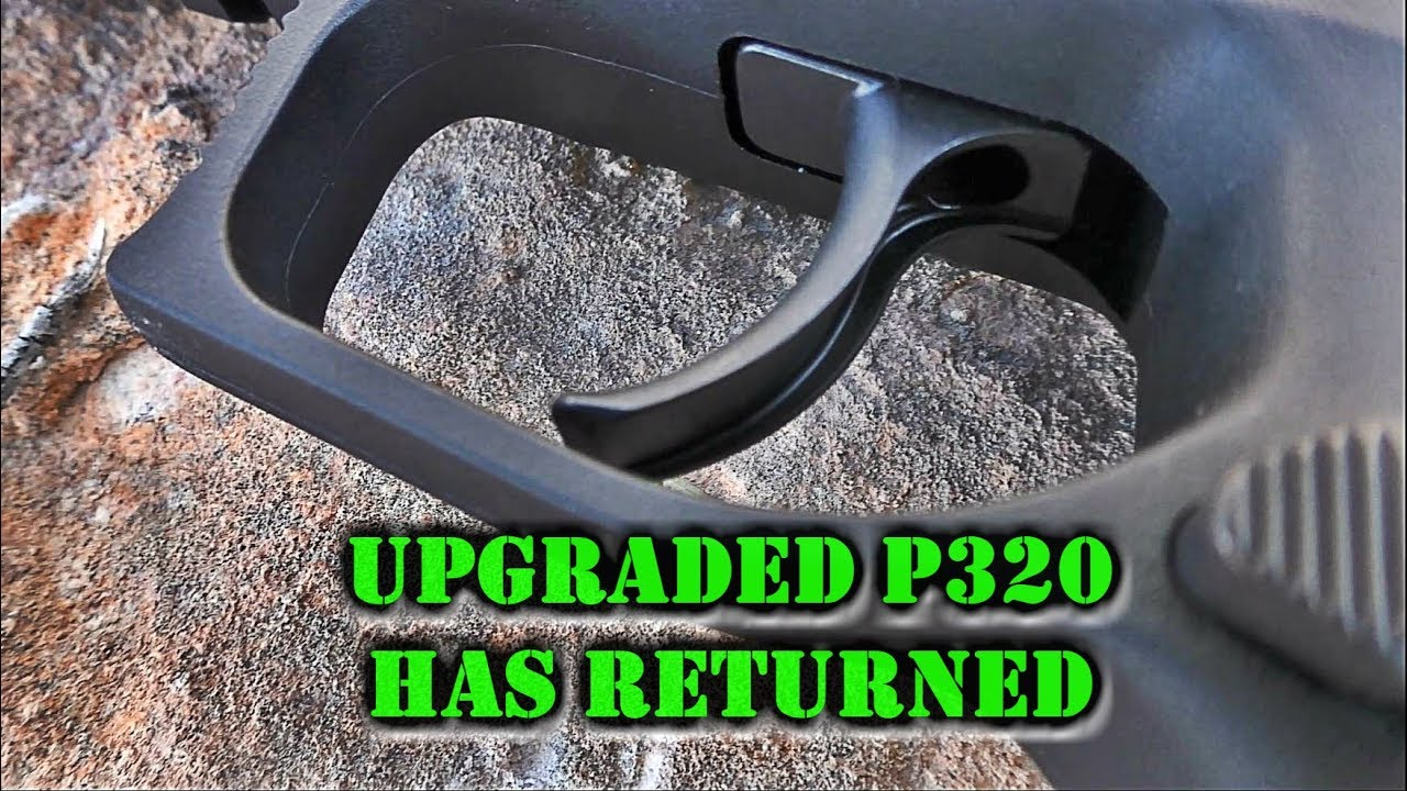 My SIG P320 is Back | Voluntary Upgrade | Testing