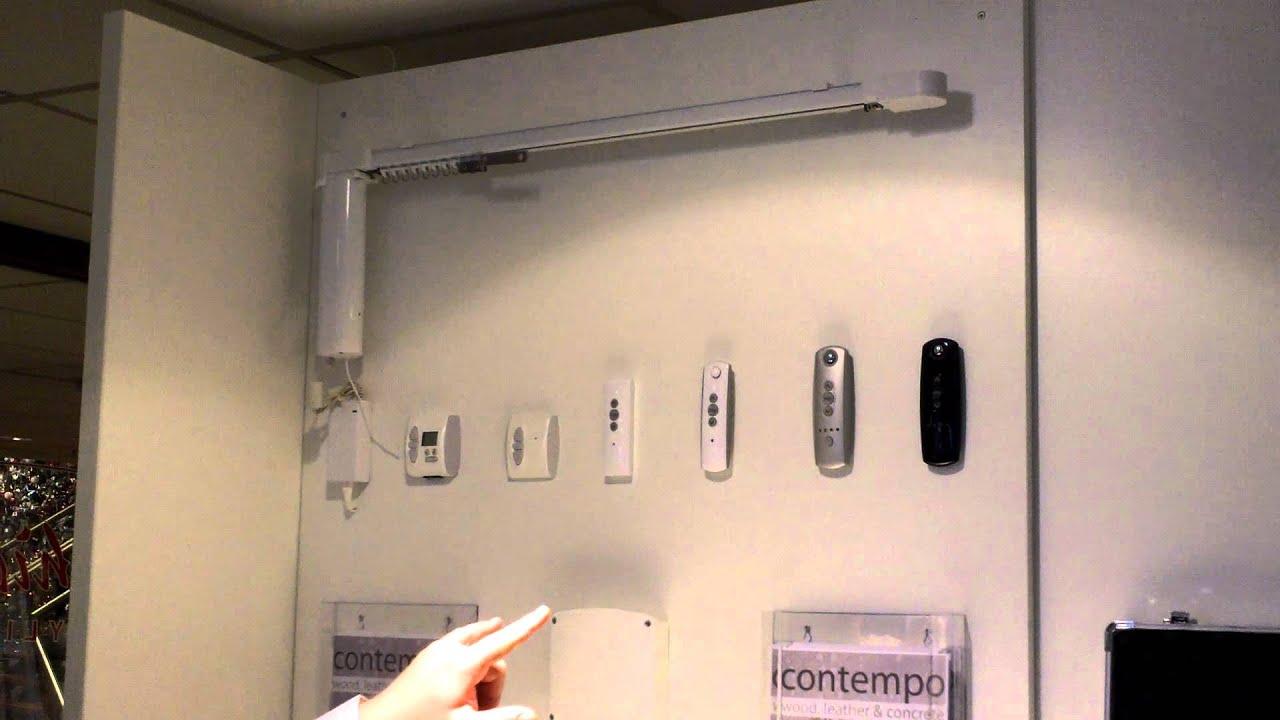 Elektrisch systeem gordijnen #HFNL - YouTube