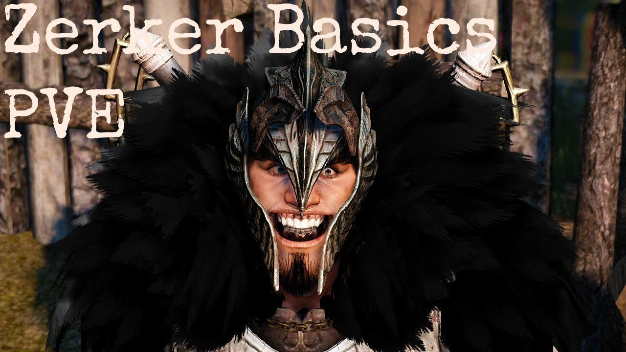 Black Desert Beserker PVE Basics #1